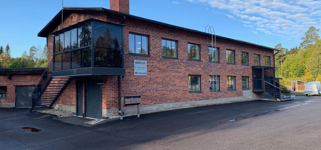 Mecastep Oy:n päätoimipaikka Lahdessa.